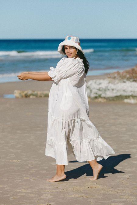Little Tienda Britta Dress - Crisp White