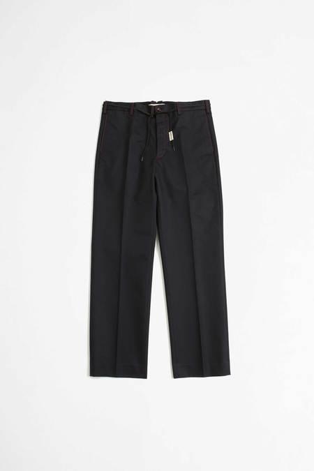 Marni Chino pants with belt - blueblack