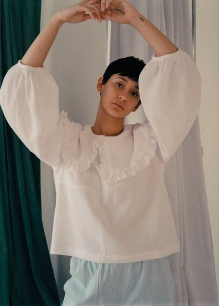 Et Tigre Faithe top - white
