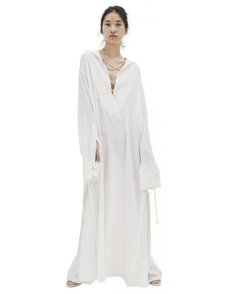 Ann Demeulemeester Maxi Dress - White