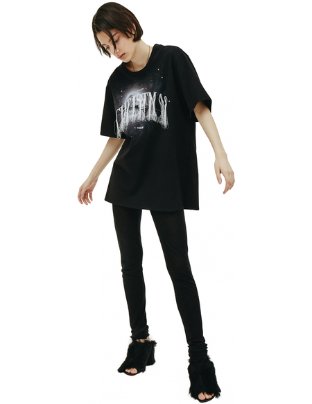 Doublet Black Embroidered Christmas T-shirt