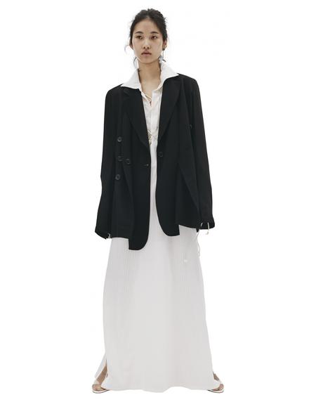 Ann Demeulemeester Black Wool Jacket