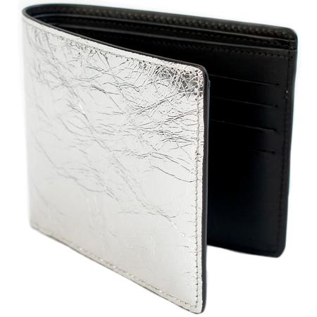 Maison Margiela Silver Leather Wallet
