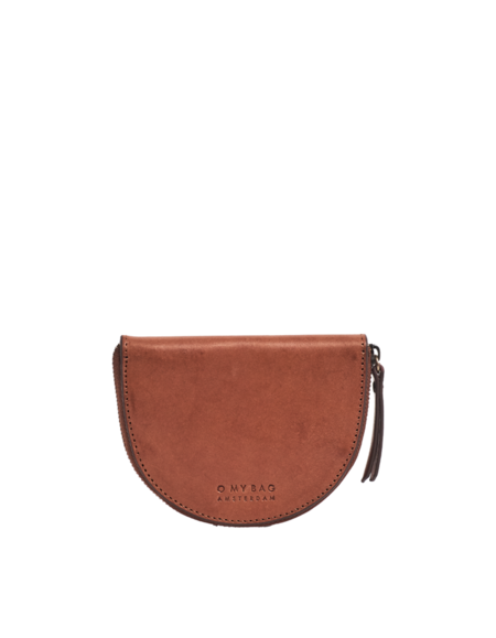 O My Bag Laura`s cognac classic leather purse - Brown