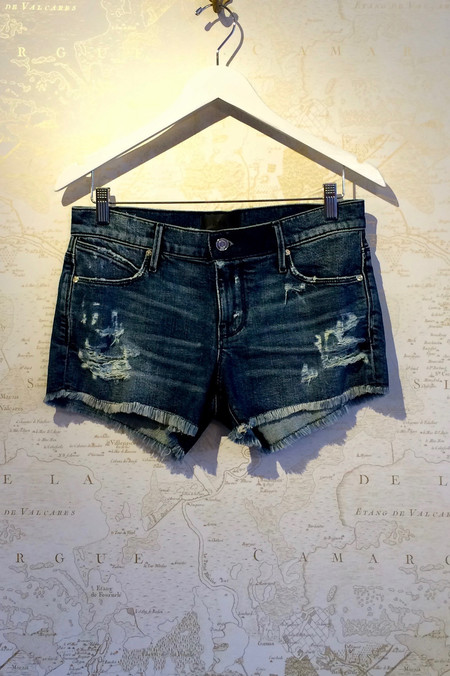 RtA 'Olivia' Indie Wash Denim Short