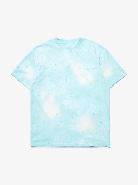 [Pre-Loved] A Cold Wall Male Green Paint Spray Cotton T-Shirt