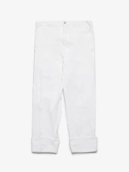 PRE-LOVED Comme Des Garcons Homme Plus Suit Pants - white