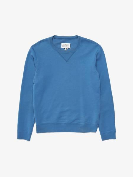 Maison Margiela Elbow Leather Detailed Sweatshirt
