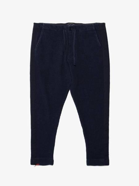 Greg Lauren X Paul & Shark Knitted Jogging Trousers - blue