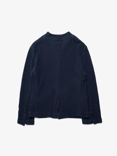 Greg Lauren X Paul & Shark Knitted Jacket - Blue
