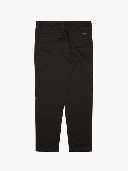 [Pre-Loved] Dolce & Gabbana Male Black Rubber Waist Cotton Pants
