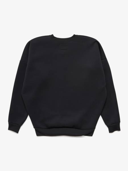 [Pre -Loved] Wtaps Front Logo Embroidery Sweatshirt - Black