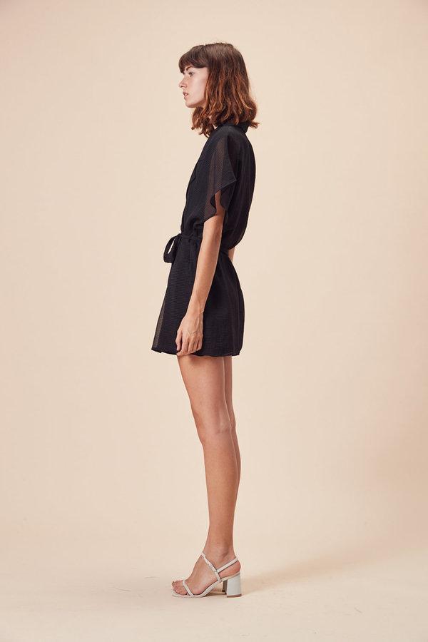 Stil. Pfeiffer Mini Dress in Black Check