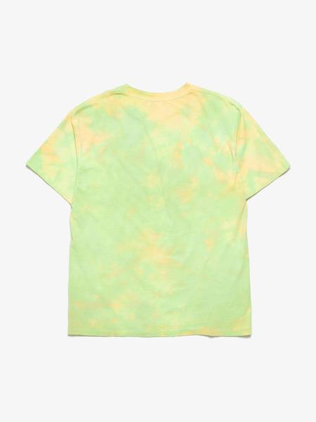 John Elliott Tie-Dye Cotton T-shirt - Neon Green