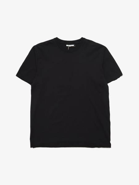 John Elliott Raw Hem Basic T-shirt - Black