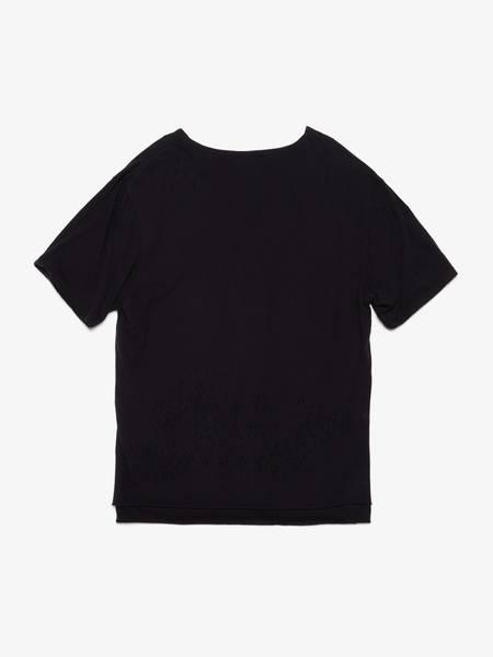 PRE-LOVED Miharayasuhiro Double Layered Cotton T Shirt - black
