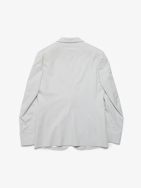 [Pre - Loved] Maison Margiela  Cotton Suit Jacket - Light Gray
