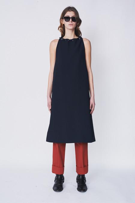 Nomia Oxford Halter Dress