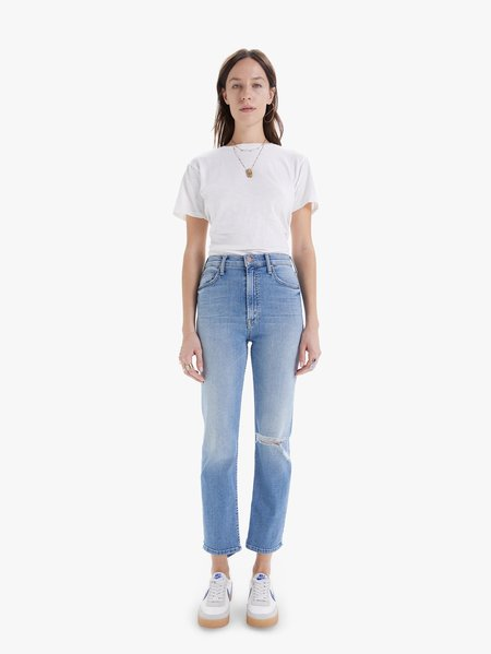 Mother Denim High Waisted Rider Ankle - Kiss and Make Up Again
