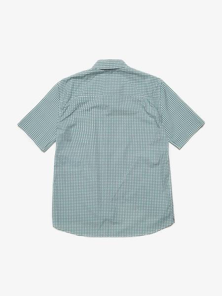 [Pre Loved] Marni  Shortsleeved Cotton Shirt - Green Checkered
