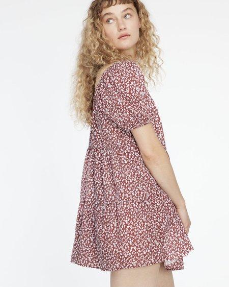 Lacausa PLAYA MINI Dress - COCOA MUSHROOM