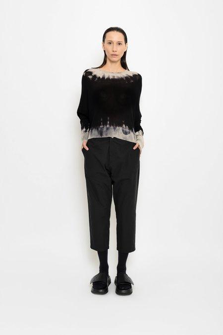 UMA Raquel Davidowicz Linguado Long Sleeve Knit With Tie Dye