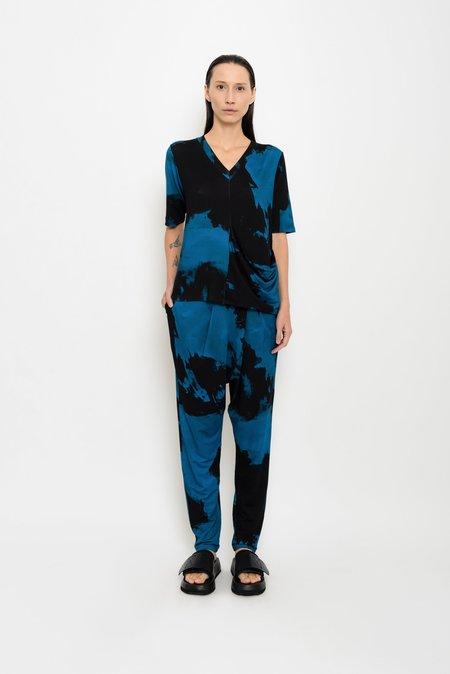 UMA Raquel Davidowicz Apalis Printed Stained Jersey Top