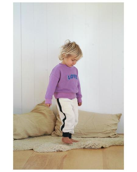 Kids We Are Kids Charles Joggers - Natural Lateral Stripe