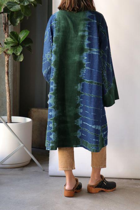 Raquel Allegra Swing Coat - Kelly Storm Tie Dye
