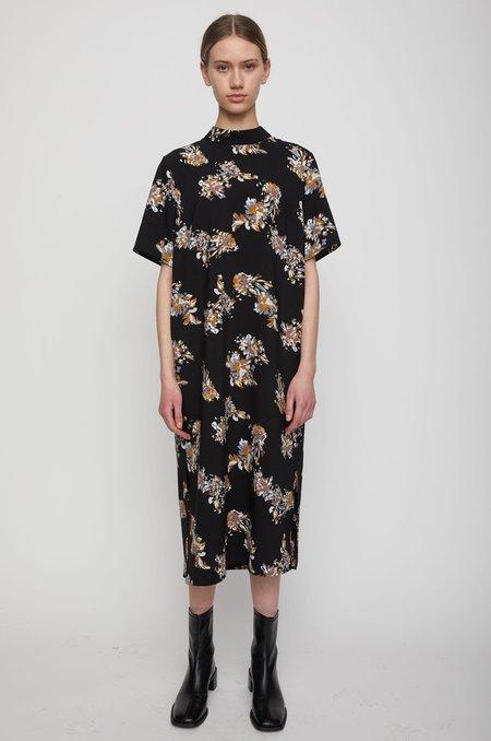Just Female Astra Dress - Black Paint Art