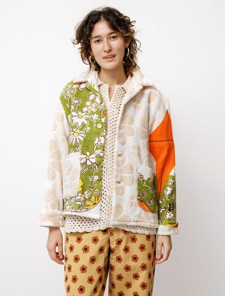 BODE Duo Towel Jacket - Daisies