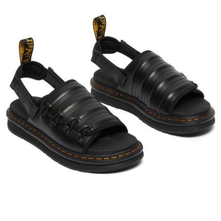 Dr.Martens X Suicoke Mura Sandals - Black Smooth/Neoprene