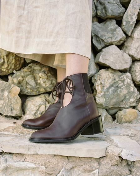Naguisa Noaa boots - Mahogany