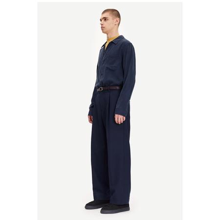 Samsoe Samsoe taka jc shirt - 14084 Sky Captain