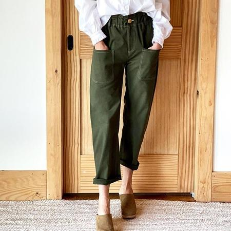 Emerson Fry Orchard Pant - Army Green
