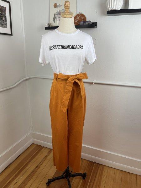 [pre-loved] Antonio Melani High Rise Burnt Trouser - Orange