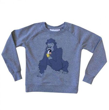 Tao&Friends Grey Gorilla Sweatshirt