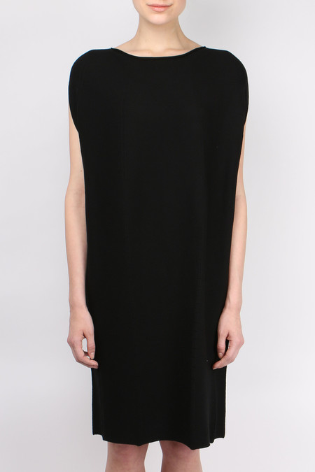 One Choi Poncho Dress - Black