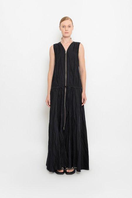 UMA Raquel Davidowicz Crumpled Long Dress With Strap - Pomba