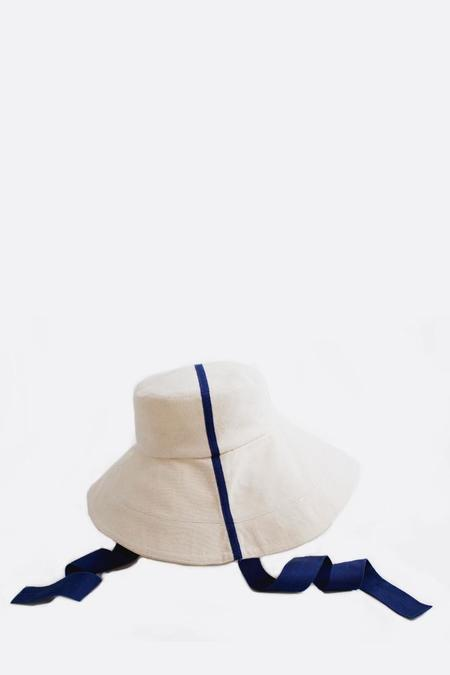 Lola Big Finishing Line Hat with Cadet Trim