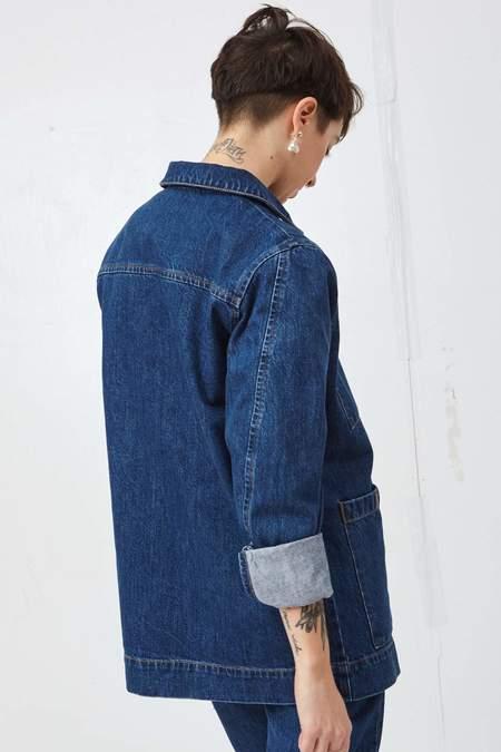 Unisex Decade Studio Sunny denim chore coat – Sintra