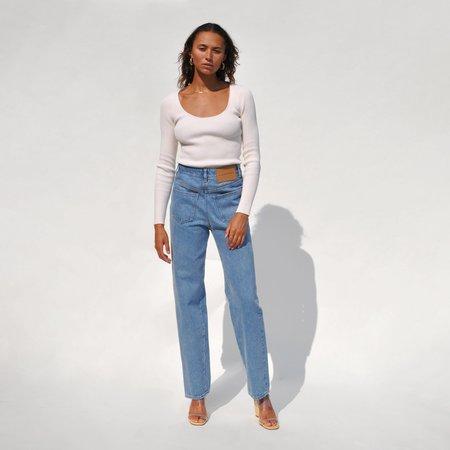 Maison Margiela 5 Pocket Reversed Jeans