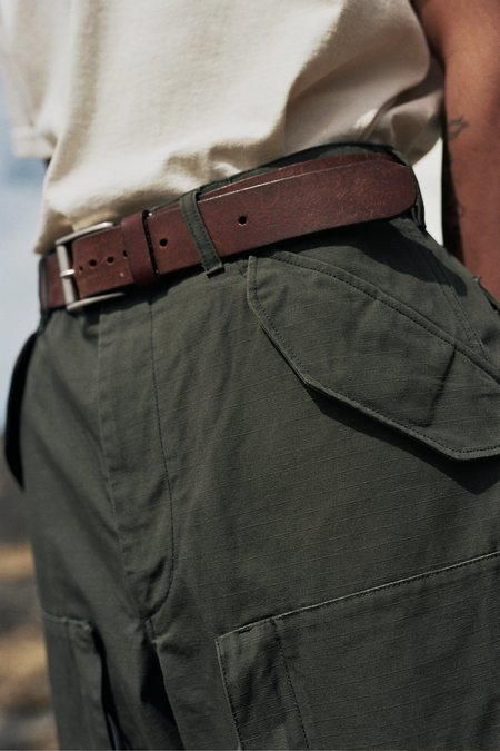Engineered Garments Heavyweight Cotton Ripstop Aircrew Pant - Olive