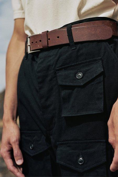Engineered Garments Heavyweight Cotton Ripstop FA Pant - Black