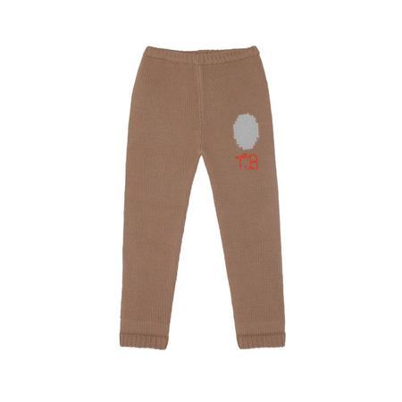 Kids Tambere Ella Kid's Wool Legging - Mocha Brown