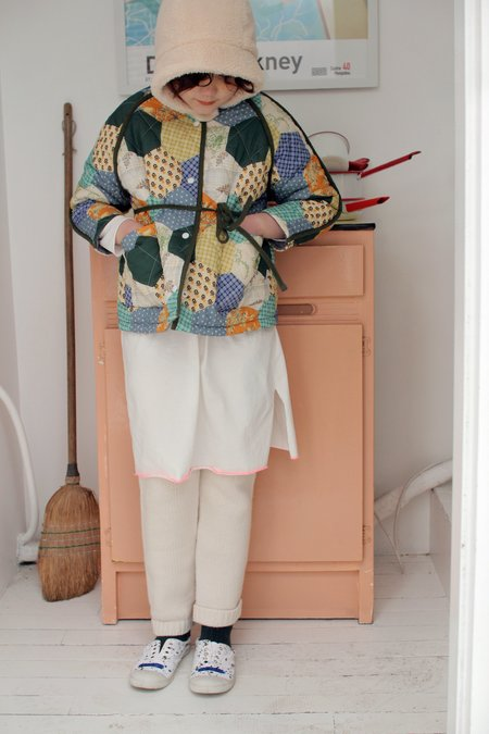 Kids Tambere Emmett Kid's Jacket - Multi Patchwork