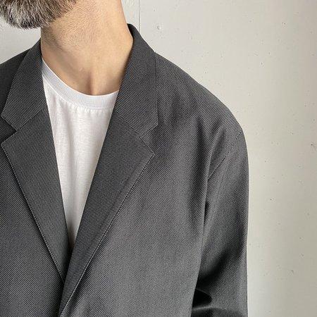 Still By Hand W/N Relaxed 2B Jacket - Grey