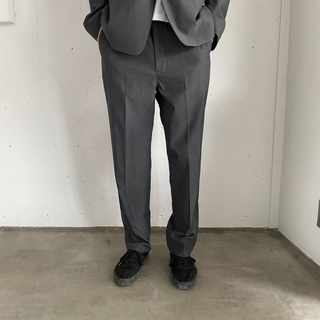 Still By Hand W/N Slim Tapered Pants - Grey