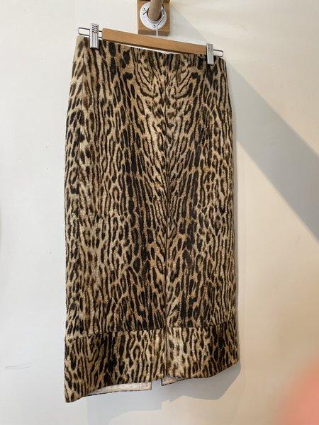 [Pre-Loved] Chloe Skirt - Leopard