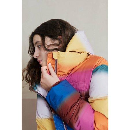 Kids molo harper coat - rainbow